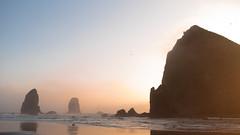 Pastel Skies at Cannon Beach (Kapture The Light) Tags: cannon beach oregon coast pnw ocean sunset haystack rock summer background wallpaper nikon d750 roadtrip nature