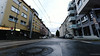 After the rain (frankdorgathen) Tags: essen rüttenscheid mundane urban city wide angle weitwinkel perspective perspektive street streetphotography rain pavement regen gully