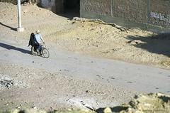 Couple riding bicycle (Svetlana Polukhina) Tags: egypt africa couple bicycle street transport summer dakhla film kodak 35mm analog