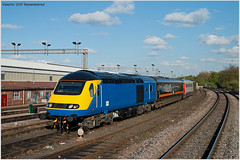 Valenta 'Still' Remembered (Resilient741) Tags: class 43 hst high speed train buffered power car powercar derby etches park mml midland main line mainline flying banana intercity 125 ex works emt east midlands trains diesel loco locomotive