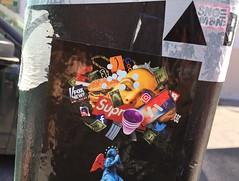 NYC 2018 (bella.m) Tags: graffiti streetart urbanart nyc usa manhattan newyorkgraffiti art pasteup wheatpaste