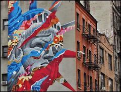 Little Italy (Miros [SCL]) Tags: manhattan nyc newyork nuevayork graffiti architecture urbano city littleitaly