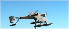 Plane (Jan Herremans) Tags: belgium temse statue airplane sky