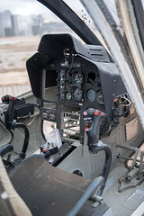 Inside the OH-58 Kiowa Helicopter (Operation Desert Storm Veteran) (LisaDiazPhotos) Tags: march field museum military air force lisadiazphotos riverside up close aircraft day operation desert storm veteran oh 58 kiowa helicopter