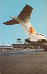 SRQ03 (By Air, Land and Sea) Tags: srq nationalairlines easternairlines boeing 727 b727 airport postcard aircraft airplane airline sarasota florida sarasotabradentonairport
