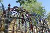 Square des Noctambules (2000) by Jean-Michel Othoniel - Paris 2nd (Sokleine) Tags: othoniel jeanmichelothoniel noctambules verre murano perles pearls glass squaredesnoctambules metro bouchedemétro metroentrance 2000 paris 75002 iledefrance france frenchheritage