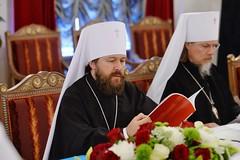 08. Заседание Священного Синода РПЦ 14.05.2018