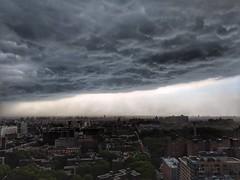 ZUUL (dpakisgood) Tags: apocalypse ghostbusters rain urban city nature skyline horizon sky clouds storm nyc newyorkcity brooklyn