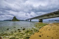 FXT27530 (kevinegng) Tags: japan okinawa 日本 沖繩 kouribridge 古宇利大橋 bridge beach seaside cloudysky cloudy