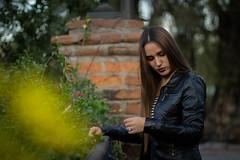 Andrea Borlando (CarlosBahamondeJ) Tags: santiago chile santa lucia girl portrait beautiful canon usm sunset blue red black lastarria nature art light summer street city new