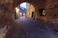 In the Dark Gate (airSnapshooter) Tags: city lublin polska europe gate evening light canoneos6d canonef1635f4l