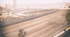 Concrete Jungle (Cartridge Deflector) Tags: thecrew motorcycle ktm rc8 city highway