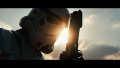 Rise of the trooper (Luuk de Kok) Tags: star wars storm trooper stormtrooper clone sw universe starwars empire sith dark lord soldier luukdek sunset backlight cosplay costume portrait cinematic film movie cinematography photoshop