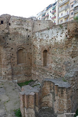 Imperial Palace, Galerian Complex, Thessaloniki (2).JPG (tobeytravels) Tags: thessaloniki greece gelerius emperor apsidalhall basilica apse baths hypocaust opussectile