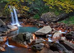 Douglas Falls in Autumn - West Virginia (tPFmariah9999) Tags: travelphotography travel longexposure longexpo foliage fall changingleaves leaves autumn douglasfalls gotowv wv westvirginia waterfalls waterfall