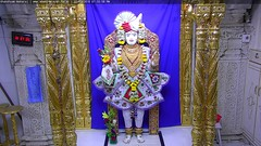 Ghanshyam Maharaj Sandhya Darshan on Tue 22 May 2018 (bhujmandir) Tags: ghanshyam maharaj swaminarayan dev hari bhagvan bhagwan bhuj mandir temple daily darshan swami narayan sandhya
