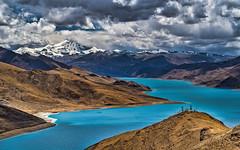 羊卓雍湖 (羊卓雍措) (sunnyha) Tags: 羊卓雍湖 羊卓雍措 yamdroklake tibet tibetautonomousregion tibetanculture chinese china chinalandscape chineselandscape sky blueskyandwhitecloud lake water mountain snow mount peak outdoors day nopeople whitecloud colour photographier photograph sunnyha sunny sony sunlight sonyilce7m3 sonyfe24240mmf3563 a7m3 西藏 中國 中国 中国風景 中國風景 攝影 寫真 摄影写真 landscape