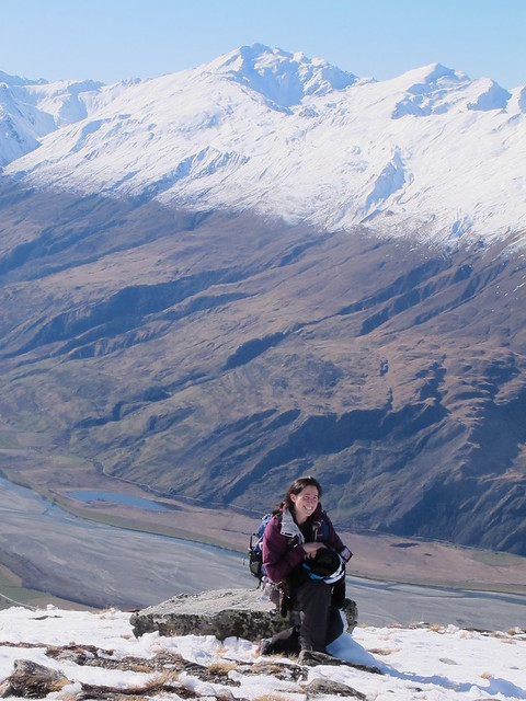 16.8.2012 Abigail from New York totally blown away by the Matukituki View
