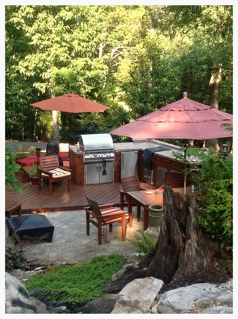 Custom Fire Magic Outdoor Kitchen, Signal Mtn, Tn.