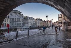 Canales-de-Gante (Fotoencuadre Miguel Alvarez) Tags: gante flandes belgica canalesdegante canales europa ciudd medieval