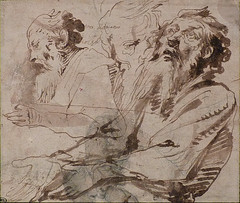 VAN DYCK Antoon - Têtes de Vieillard en buste, Etudes (drawing, dessin, disegno-Louvre INV22197) - 0 (L'art au présent) Tags: art painter peintre details détail détails detalles drawings dessins dessins17e 17thcenturydrawings louvre museum paris france dessinshollandais dutchdrawings dutchpainters peintreshollandais antoonvandyck antoon antoine anton book figure figures personnes people man men homme croquis étude study studies sketch sketches pose model portrait portraits face faces visage old elder oldman bearded manbeardbarbe