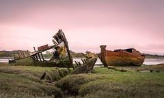 Fleetwood Shipwrecks (antonyrowlandsphotography.com) Tags: fleetwood shipwrecks oldboats fyldecoast sunset landscape