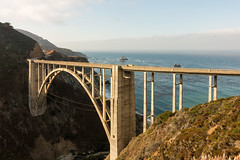 California State Route 1 (AdrienG.) Tags: bixby bridge cliff falaisecoastal road state route coast cotiere highway 1 one ocean pacifique pacific pier ponton californie california usa etats unis ameriques united states america アメリカ合衆国 sony rx100 iii mark m 3 ソニ