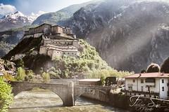 Forte di Bard (Fabry & Sonia) Tags: forte bard aosta castello castle colori montagna