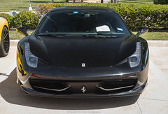 458 (Hunter J. G. Frim Photography) Tags: supercar dallas texas ferrari 458 italia coupe black red v8 italian ferrari458italia ferrari458