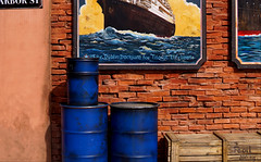 Legend of Blue Sea (Sharp - Shooter) Tags: street ocean meer bild picture titanic boat wall