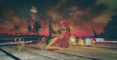 I Like That (likethewaves) Tags: sl secondlife mer mermaid mermaids merfolk merpeople merperson seacreature siren sirens tropical sea seas ocean oceans water waters sealife fantasy weed pot maryjane ganja blunt blunts hookah island islands caribbean fashion fashionable style stylish stylist floral flowers florals flower hibuscus crown gold paper lanterns