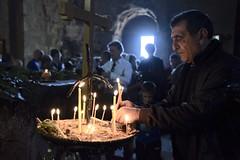 burn a candle (=Mirjam=) Tags: nikond750 mtscheta georgia church candles religion light roadtrip travels inside culture mei 2018