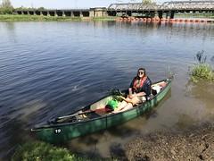 (Sam Tait) Tags: canoe canadian open river soar trent england nottinghamshire girlfriend
