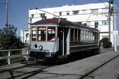 US CA San Francisco MUNI 1 11-1972 b (David Pirmann) Tags: california sanfrancisco muni tram trolley streetcar transit railroad transportation