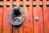 _MG_3714 (iperezmarin) Tags: chaouen marruecos puertas portones llamadores forja madera
