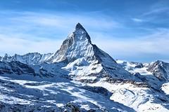 Cervino (versante Zermatt) (JadePhotoJG) Tags: cervino zermatt montagna neve matterhorn cielo svizzera switzerland osservatorio winter sky mountain himmel