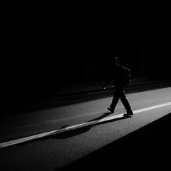 Ø (Panda1339) Tags: shadow man london bus streetphotography square light 28mm uk walk