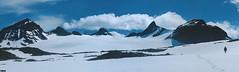 Jotunheimen Mountains - Norway (TLMELO) Tags: montanha mountain mountaineer mount noruega norway norwegian keepwalking justdoit walking neve snow impossibleisnothing girl woman