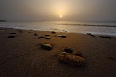 Dibba Beach (oli murugavel) Tags: pebbles sea seashore shore nature sunrise stones walk goldenhour uae dibba emirates beach