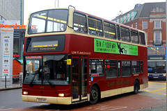 8225 KH, St Stephens, Hull, November 27th 2014 (Southsea_Matt) Tags: 8225kh 658 volvo b7tl plaxtonpresiednt eyms eastyorkshiremotorservices unitedkingdom yorkshire hull england ststephens november 2014 autumn canon 60d sigma 1850mm bus omnibus transport