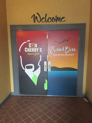 Choose your eats (jamica1) Tags: prestige hotel doors don cherry pub restaurant bc british columbia canada salmon arm