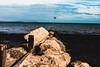 The rocky groin (Sean McCammon) Tags: iow rocks groin sand sea seashore seaside panasonic g6 beach shore