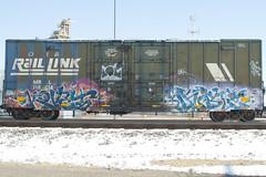 Kovet Duble (Psychedelic Wardad) Tags: freight graffiti rh duble rtd ba kovet
