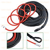 50ft x 1/4 inch BLACK 7000lbs Strong Durable Synthetic 12-Strand Winch Rope with 40 inch Red Heat Guard Car SUV ATV UTV KFI (astradepotcorp) Tags: allheatguard variation jeepwinch jeepwrangler jeepcherokee jeeplife jeep4x4 offroading adventure instajeepthing explore outdoor recovery 4x4 atv winchrope boat truck syntheticwinch jeep suv ramsey kfi