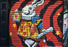 Herald (Pensive glance) Tags: graffiti image painting wall mur mural streetart artderue