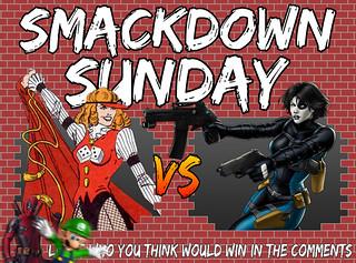 Smackdown Sunday- Hazard VS Domino