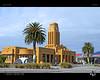 Westport Icon (tomraven) Tags: westport municipalhall tomraven palms sky clouds building architecture aravenimage q22018 nikon d7000