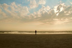 Iron man at Crosby Beach (cattan2011) Tags: sunset 英国 waterscape seascape england merseyside liverpool crosbybeach travelphotography travelbloggers travel naturelovers natureperfection naturephotography nature landscapephotography landscape