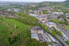 Hall Carr Mill (North Ports) Tags: hall carr mill greenbridge works ilex rossendale lancashire rawtenstall river irwell