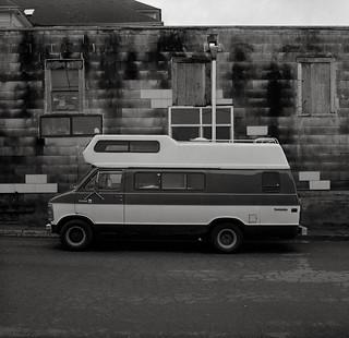 Van, Astoria, Oregon